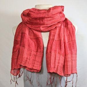 ❤️ Silk/Cotton Scarf #hundredsofscarves